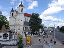 Belarus. Minsk. St.Peter and Paul Cathedral Stock Photography