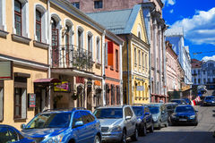 Belarus, Minsk, street Revolutionary Royalty Free Stock Photo