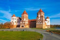 belarus Mir Castle imagem de stock royalty free