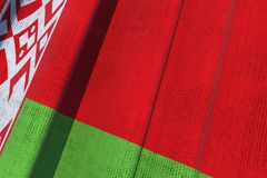 Belarus National Flag Royalty Free Stock Photo