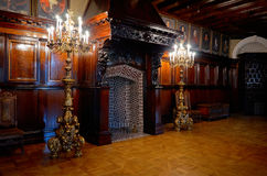Belarus. Nesvizh castle of the Radziwill family. The interior of the castle. May 22, 2017 royalty free stock image