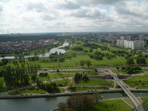 Belarus. Panorama of the city of Minsk Belarus Royalty Free Stock Photo