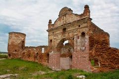 belarus ruiny bramy monasterów ruiny Fotografia Stock