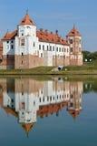 belarus slott komplicerade Europa mir royaltyfria bilder