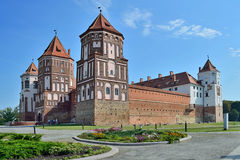 belarus slott komplicerade Europa mir arkivbild