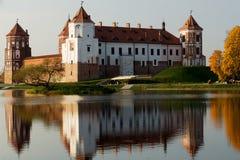 belarus slott komplicerade Europa mir Arkivfoto