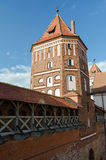 Belarus. Tower of Mir Castle Royalty Free Stock Images