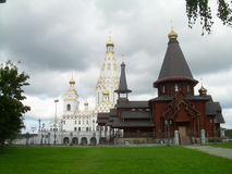 Belarus. Two churches in the capital of Belarus Royalty Free Stock Photos