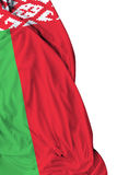 Belarus waving flag on white background Royalty Free Stock Photography