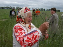Belarusian ancient rite Royalty Free Stock Photography