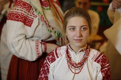 The Belarusian Bride royalty free stock image