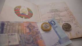 Belarusian currency Stock Photos