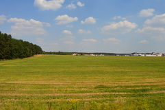 Belarusian Fields. Fields in lovely Belarus, Minsk. Counryside Stock Photography