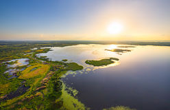Belarusian lake Stock Photography