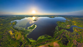 Belarusian lake Royalty Free Stock Image