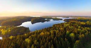 Belarusian lake Stock Photos