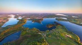 Belarusian lakes Stock Photo