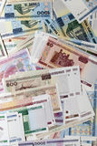 Belarusian money, close-up Stock Photos