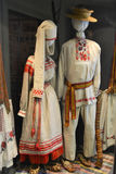 Belarusian national costumes Royalty Free Stock Photo