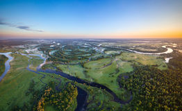 Belarusian river Royalty Free Stock Photos