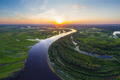 Belarusian river Stock Photography
