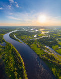 Belarusian river Stock Images