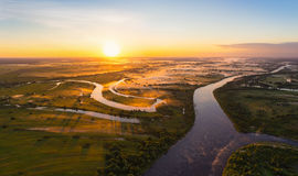 Belarusian river Royalty Free Stock Photo