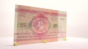 Belarusian 25 Rubles stock video