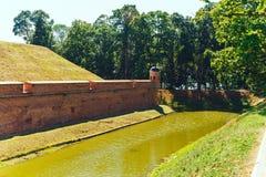 Belarusian tourist landmark attraction Nesvizh Castle Royalty Free Stock Photography