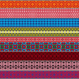 Belarusian traditional patterns, ornaments. Set 3 Royalty Free Stock Image