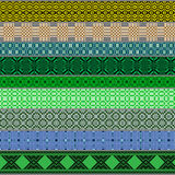 Belarusian traditional patterns, ornaments.Set 6 Royalty Free Stock Photography