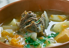 Belarusian traditional soup Royalty Free Stock Photo