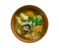 Belarusian traditional soup Stock Image