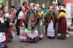 Belorussian traditions Royalty Free Stock Image