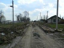 Belarusian village. Stock Photo