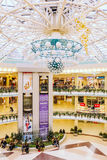 Belarussian shopping center Stolitsa Royalty Free Stock Photography