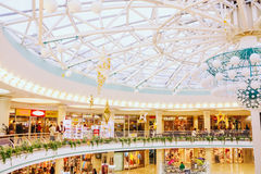 Belarussian shopping center Stolitsa Stock Images
