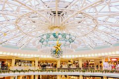 Belarussian shopping center Stolitsa Royalty Free Stock Photos