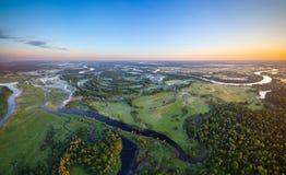 Belarussischer Fluss lizenzfreie stockfotos
