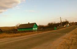 Belarussisches Dorf Lizenzfreie Stockfotografie