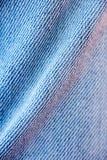 Belas artes macro extremas do fundo das fibras da roupa de cal?as de ganga nos produtos de alta qualidade 50,6 Megapixels das c?p imagens de stock