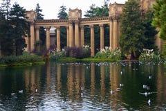 Belas artes San Francisco Califórnia do palácio Fotos de Stock Royalty Free