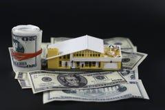 Belasten Sie Ihre Anlagegüter hypothekarisch Stockbild