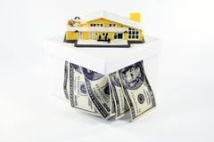 Belasten Sie Ihre Anlagegüter hypothekarisch Stockfotos