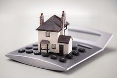 Belasten Sie Rechner hypothekarisch Lizenzfreies Stockfoto