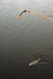 Belastete Zeile (für Unterseitefischen) Lizenzfreie Stockfotos