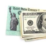 Belastingaangifte royalty-vrije stock foto