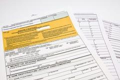 Belastingen stock afbeeldingen