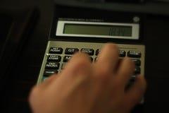 Belastingscalculator Stock Afbeelding