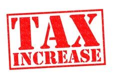 Belastingsverhoging stock illustratie